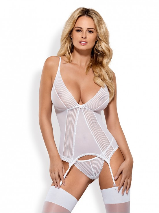 Be Naughty Sensita corset white