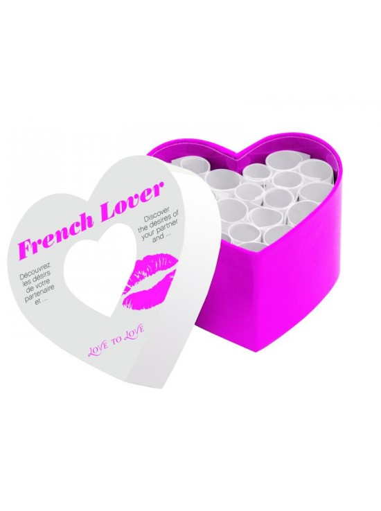 Jeux Coquins French lover mini corps a coeur