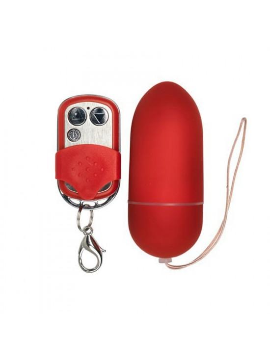 Oeuf vibrant radiocommande Spoody One rouge - 10 vitesses