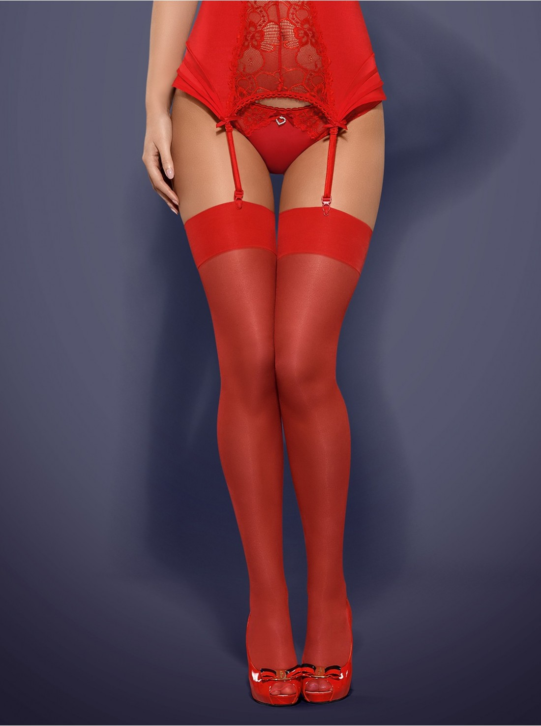 S800 stockings Red