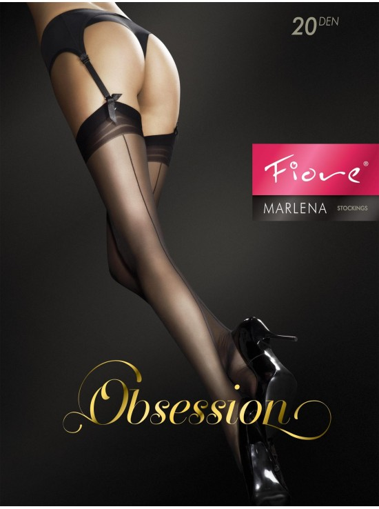 Bas & Collants Marlena Black FI