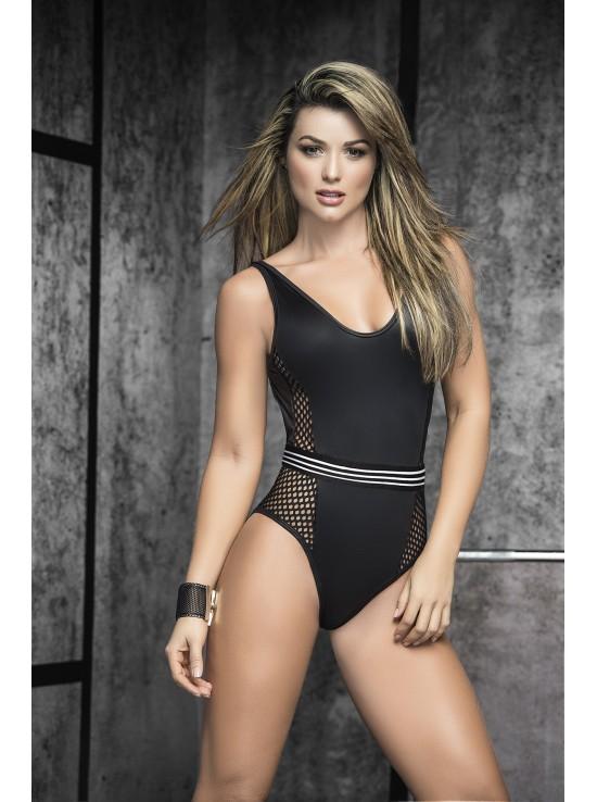 Bodys Bodysuit black 2489