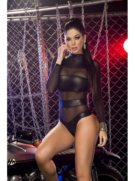 Bodysuit black 2217