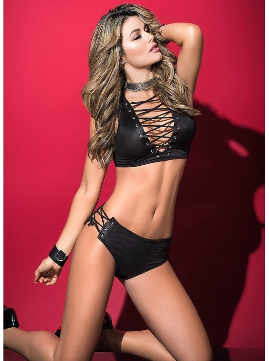 Ensembles Lingerie Set black 2497