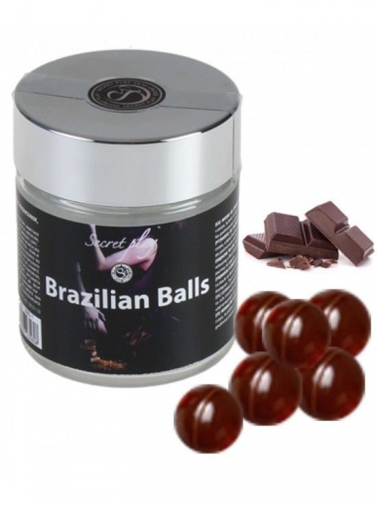 Be Sweety Brazilian Balls saveur Chocolat x6