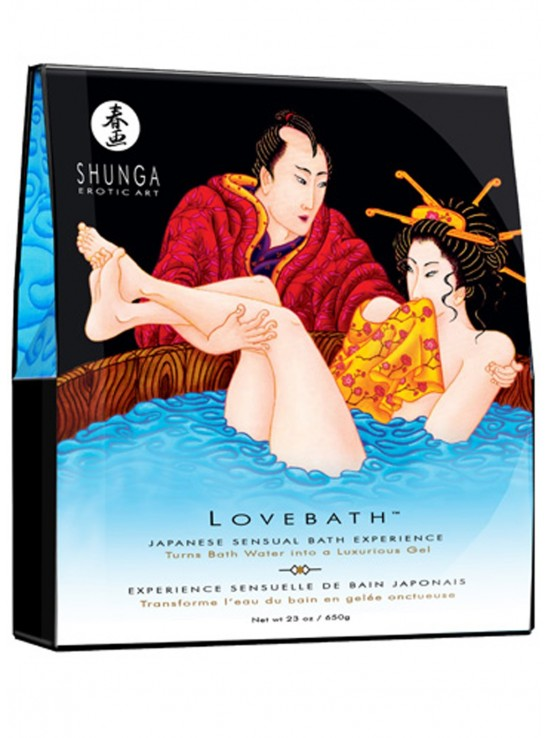 Bougies & Huiles de Massage Lovebath ocean temptations