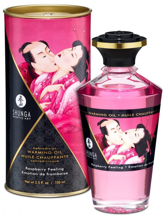 Be Sweety Huile chauffante aphrodisiaque emotion de framboise 100ml