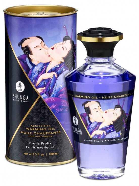 Be Sweety Huile chauffante aphrodisiaque fruits exotiques 100ml