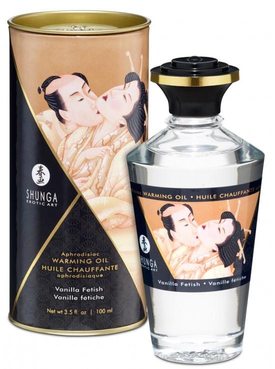 Be Sweety Huile chauffante aphrodisiaque vanille fétish 100ml