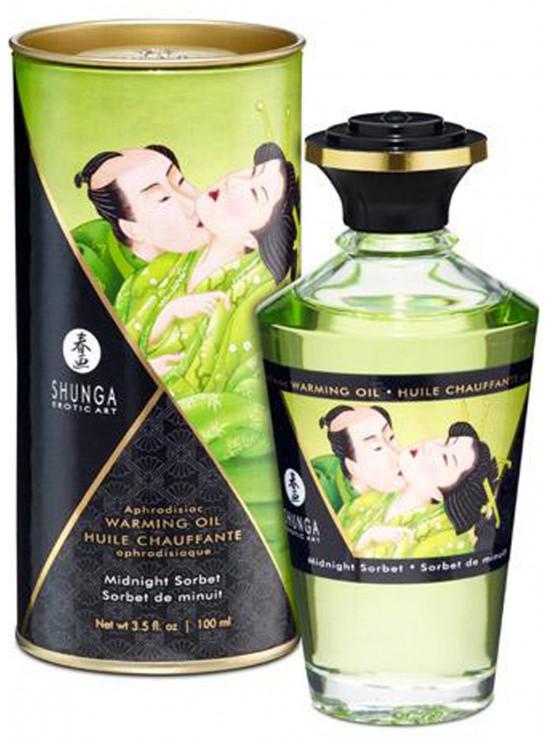 Be Sweety Huile chauffante aphrodisiaque sorbet de minuit 100ml