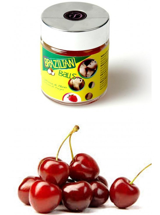 6 Brazilian balls cherry 3560-6