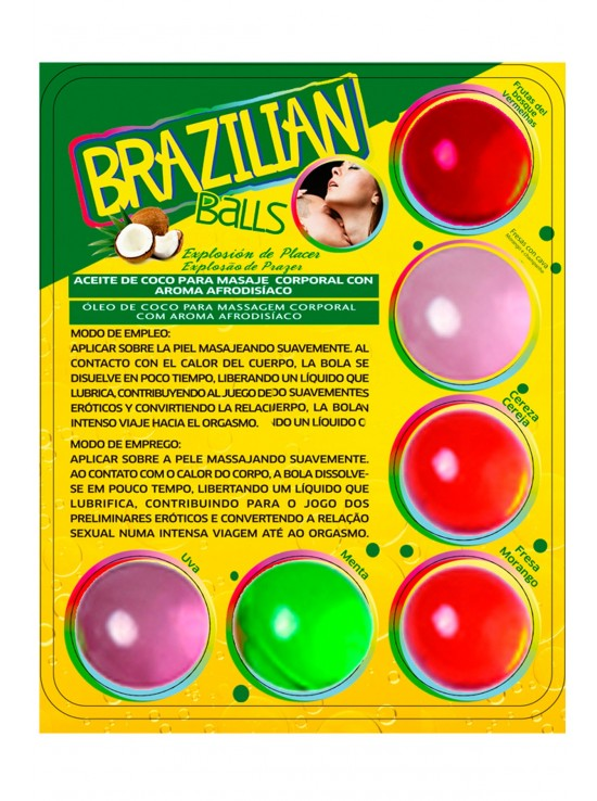 Brazilian balls aroma 3386