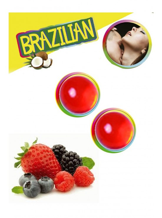Bougies & Huiles de Massage Brazilian balls berries 3385-5