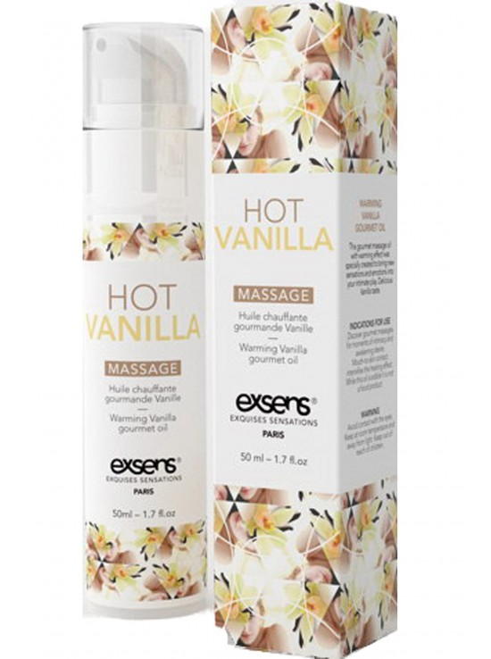 Massage hot gourmant vanil 50ml