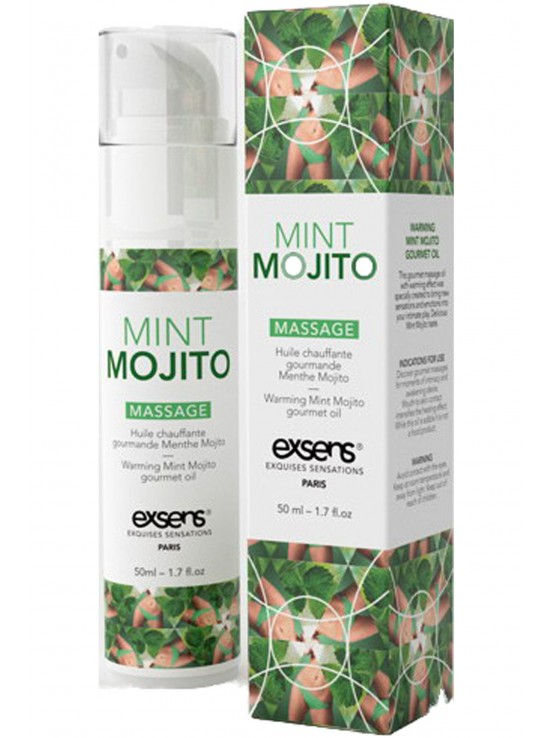 Massage hot gourmant mojito 50ml