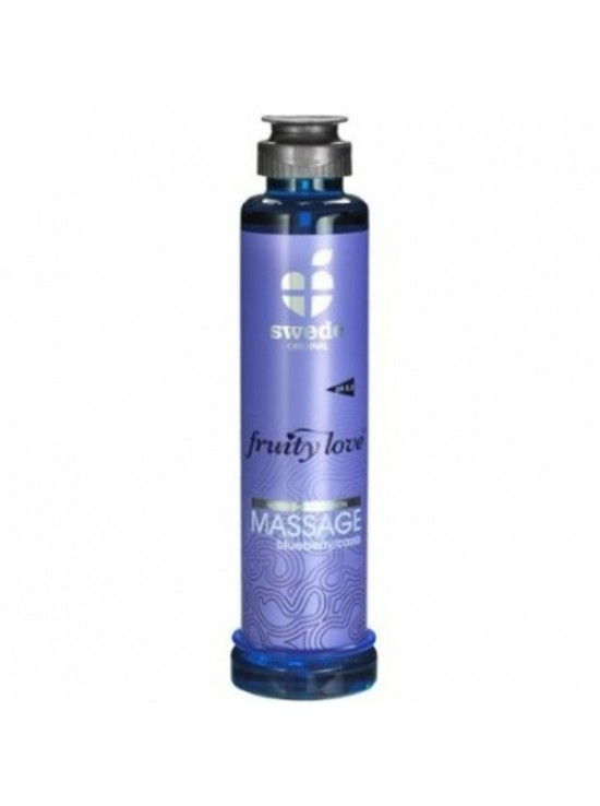 Huile de massage cassis blueberry 200ml