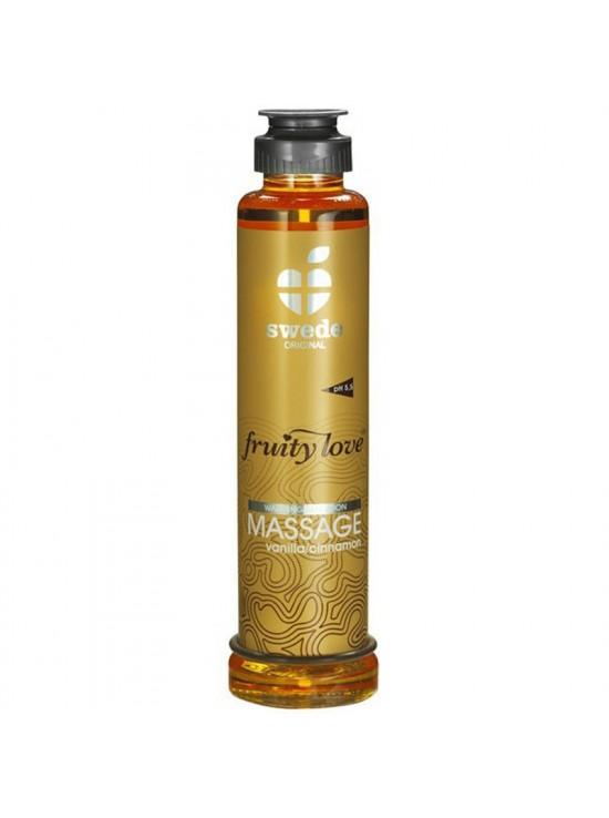 Huile de massage vanille cannelle 200ml