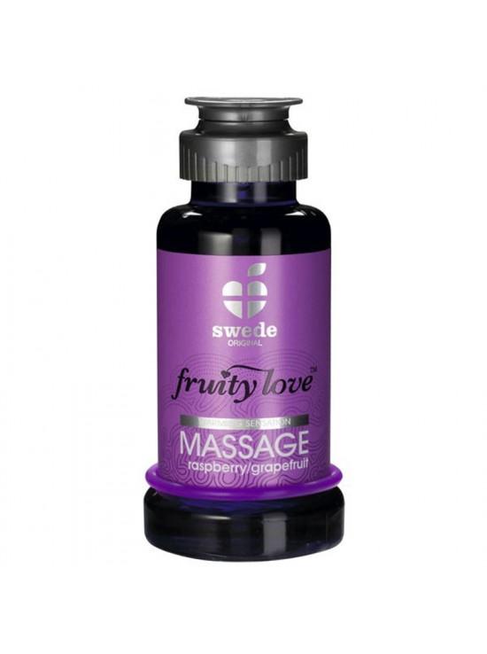 Huile de massage Framboise Pamplemousse 100ml