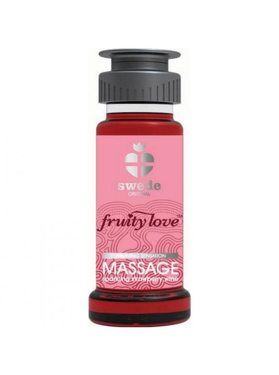 Huile de massage Fraise 50ml