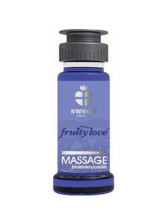 Huile de massage Cassis Blueberry 50ml
