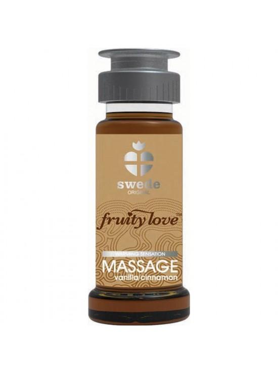 Huile de massage Vanille Cannelle 50ml