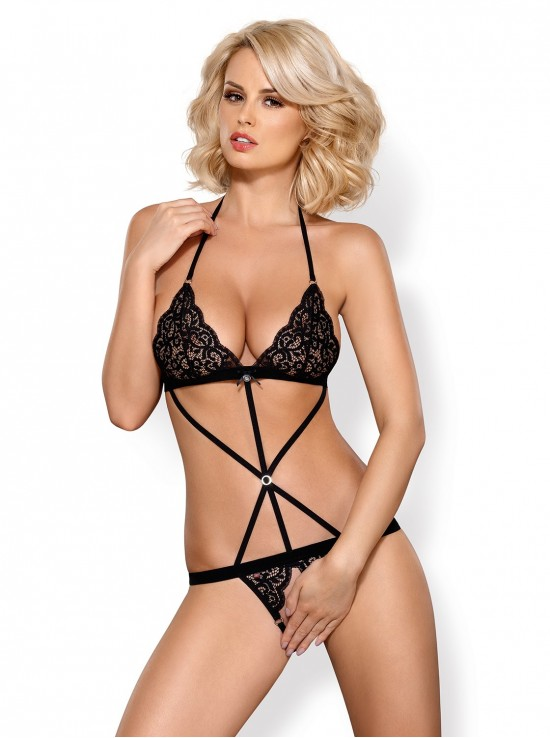 Lingerie Sexy 831-TED-1 teddy black