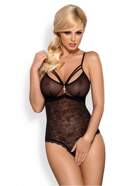 Lingerie Sexy 818-TED-1 teddy black