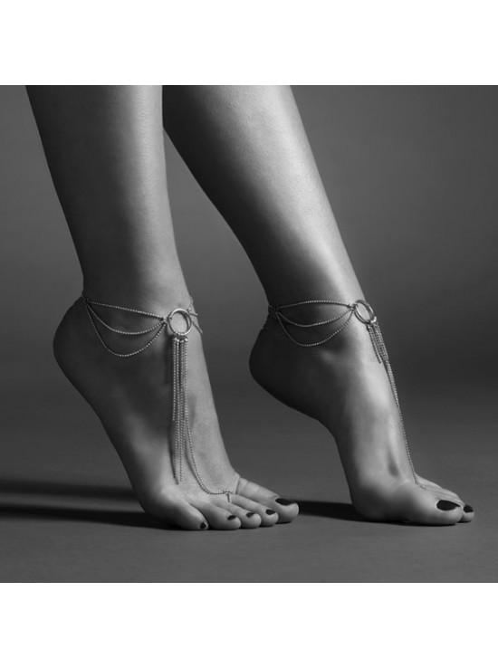 Be Sexy Magnifique - chaine de pieds - argent