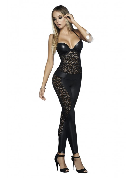 Be Naughty Jumpsuit black 2447