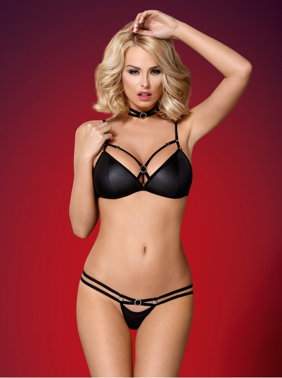 Be Sexy 823-SET-1 set 3-pcs black