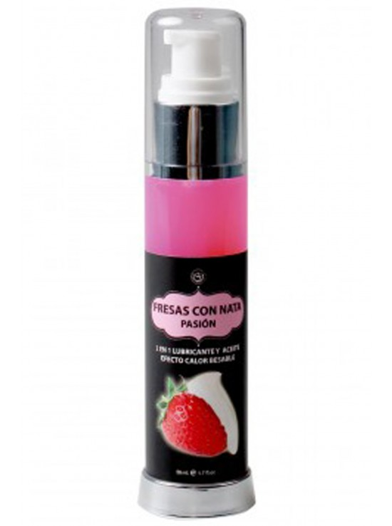 Hot effect strawberry lubricant 50ml 3538